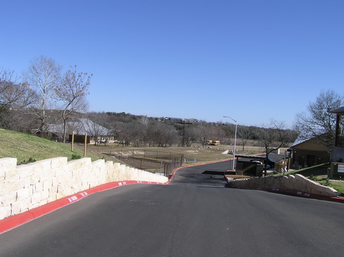 Vantage Entrace by Green Acres Landscaping, New Braunfels, Texas